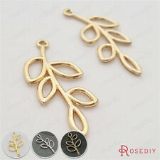 Zinc Alloy Tree Branch Charms Pendants Jewelry Findings Accessories 29693