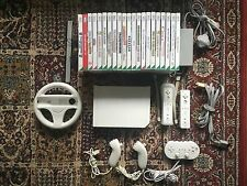 Nintendo Wii Console With 21 Games