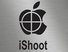 iShoot Clay Pigeon Sport Shooting Hunting Vinyl Window Stickers Decals Van 4x4