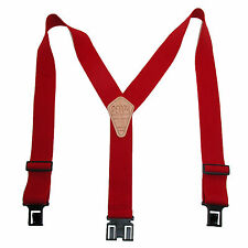 New Perry Suspenders Mens Elastic Hook End Suspenders (Tall Available)