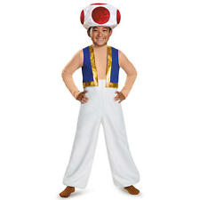 Super Mario Bros. Boys Toad Halloween Costume - Child Size