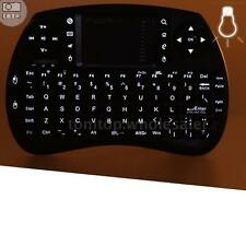 iPazzPort 2.4G Mini Wireless QWERTY Keyboard and Mouse Touchpad with Backlit