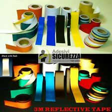 "3M™ Scotchlite type 580 Reflective vinyl Tape 6 colors range 1""/2""/4""/8"" x 2 Mt"