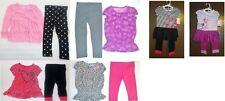 Circo Toddler Girls 2 Piece Leggings Outfits 6 Choices Many Sizes NWT