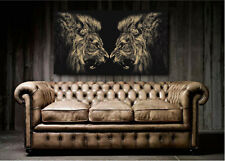 Roaring Lions Canvas Art Poster Print home Wall Decor