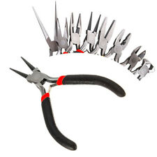 Jewellery Making Tools Beading Pliers Round Flat Wire Side Cutters Kit Set LJL
