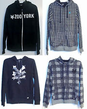 Zoo York Mens Full Zip Hoodie 4 Choices Sizes Small, Medium, Large and XLarge NW