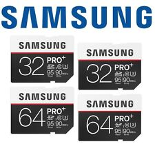 Samsung 32GB 64GB Pro Plus SD SDHC SDXC 90MB/s Class 10 UHS-I Camera Memory Card