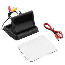 nice 4.3'' LCD TFT Foldable Monitor Screen For Car Reverse Rearview Camera XY