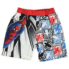 Boys Marvel Spiderman board shorts swimming trunks ages 2 through to 13 BNWT
