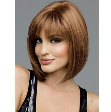 Short Hair Sexy Fashion Straight Full Hair Wigs Cosplay 4 Colors Party Womens