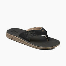Reef Men's Reef Rover Prints Flip Flops Sandals Grey