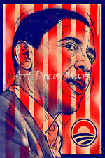 Barack Obama - CANVAS OR PRINT WALL ART