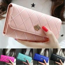 Clutch Wallet PU Card Lady Holder Purse Long Women Leather Handbag