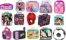 Kids TV Characters / Disney School Lunch Bag Official Product