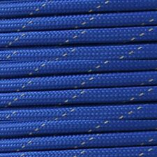 Reflective Blue 550 Paracord Type III Paracord 10 20 50 100 Hanks & 100ft Spools