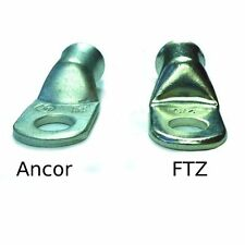 2/0 AWG Premium Tinned Battery Cable Lugs by FTZ - 25 Count