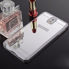 Ultra-thin Soft Silicone TPU Mirror Case Cover For Samsung Galaxy Smartphone CN