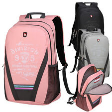Student Schoolbag Backpack Book Laptop Bag Daypack Satchel Rucksack Ultralight N