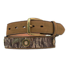 Nocona Mens Mossy Oak Break Up 12 Shot Gun Shell Concho Belt