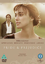 PRIDE & AND PREJUDICE DVD Movie Film 5050582794915