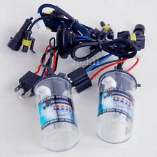 2x Car 35W/55W HID Xenon Headlight Light For H4-2 Bulbs Lo-Xenon Hi-Halogen #JP