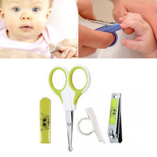 4 PIECE BABY MANICURE KIT/ SET BABY GROOMING SAFETY MANICURE 0+ MONTHS