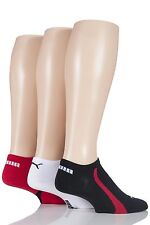 Mens & Ladies 3 Pair Puma Ring Sneaker Socks