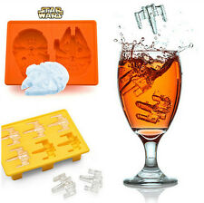 7pieces/Kit Star Wars Ice Tray Silicone Mold Ice Cube Tray Chocolate Fondant