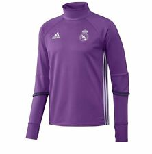 adidas Real Madrid FC 2016 - 2017 Long Sleeve Training Soccer Top Purple