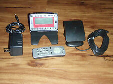 Delphi Roady2 XM Sirius Satellite Radio, Receiver, Stand, Antenna, Remote, .....