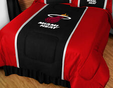 MIAMI HEAT NBA SIDELINES COMFORTER & PILLOW CASE SET