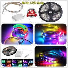 3528 5050 RGB  Light LED Sticky Strip Lamp Waterproof 60/144/300 LED 0.5/1/5M CJ