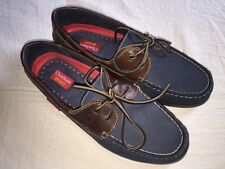 CHATHAM Sport Commodore Boat Deck Shoes Blue Nubuck/Leather UK 8 EUR 42 NEW