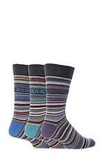 Mens 3 Pair Kickers Vendome Multi Stripe Socks