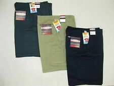 PACK OF 4 STUBBIES / HARD WEAR MENS CARGO POCKET WORK SHORTS