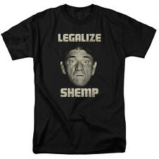 Three Stooges Shemp Face Picture Legalize Shemp Licensed Tee Shirt S-3XL