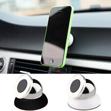 Universal Magnetic Car Mount Kit Sticky Stand Holder For Mobile Cell Phone A