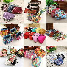 Retro Womens Lady Small Wallet Change Coin Purse Hasp Clutch Card Holder Handbag