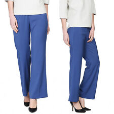 URBAN REVIVO OL Lady Bell-bottoms Trousers Wide Leg Long Flared Solid Pants