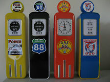 RETRO PETROL PUMP GAS TIN PENCIL CASE GIFT TIN VINTAGE REPLICA GASOLINE PUMP