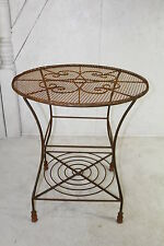 Wrought Iron Round Table - Patio Furniture to Last, Garden Tables