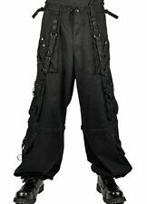 Tripp NYC Pants Shorts Black Small XL Bondage Chains Gothic Rock Punk AF7828M