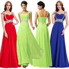 Charming Long Dress Prom Evening Gown Ball Party Wedding Bridesmaid Formal Dress