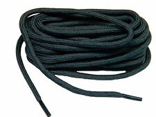 2 pair lot Heavy Duty Dark Storm Grey Kevlar boot laces shoelaces -NEW