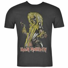 Mens T Shirt Crew Neck Amplified Clothing Iron Maiden New
