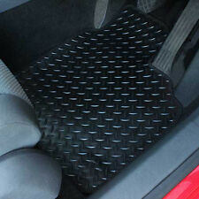 Ford Transit Custom 2015+ Fully Tailored 1 Piece Rubber Van Mat with 4 Clips (Fits: Transit Custom)