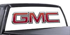 VuScapes Truck Rear Window Graphic - 4 SIZES AVIAL. - GMC WHITE