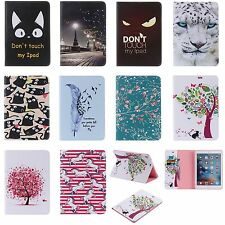 New Pattern Leather Mangnetic Smart Case Stand Cover for Apple iPad Mini 1 2 3