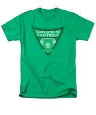 Green Lantern Shield DC Comic Logo Vintage Justice League Tee Shirt Adult S-3XL